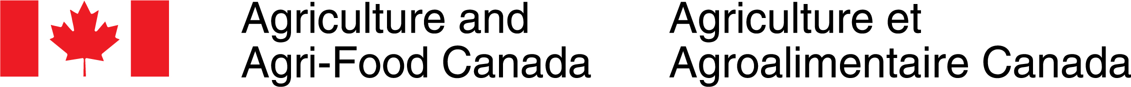 Logo d'Agriculture et Agroalimentaire Canada